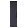 Hudson Reed Solar 350mm Wall Hung Tall Unit - Indigo Blue - CUR362 profile small image view 1