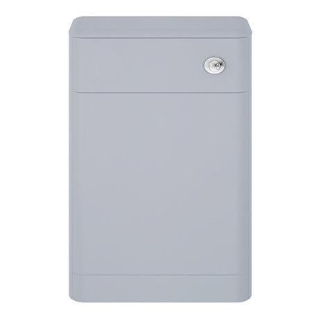 Hudson Reed Solar 550mm WC Unit - Matt Denim Blue