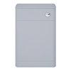 Hudson Reed Solar 550mm WC Unit - Matt Denim Blue profile small image view 1