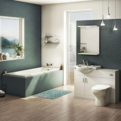 Cove 1150mm Vanity Unit Suite + Single Ended Bath