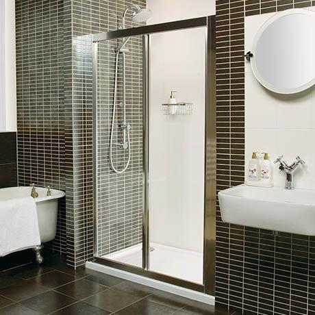 Roman Collage Bi-Fold Shower Door