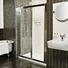 Roman Collage Bi-Fold Shower Door profile small image view 1