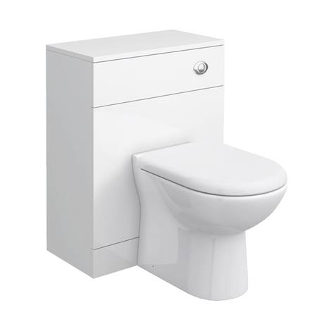 Cove 600mm BTW Toilet Unit Inc. Cistern + Soft Close Seat (Depth 300mm)
