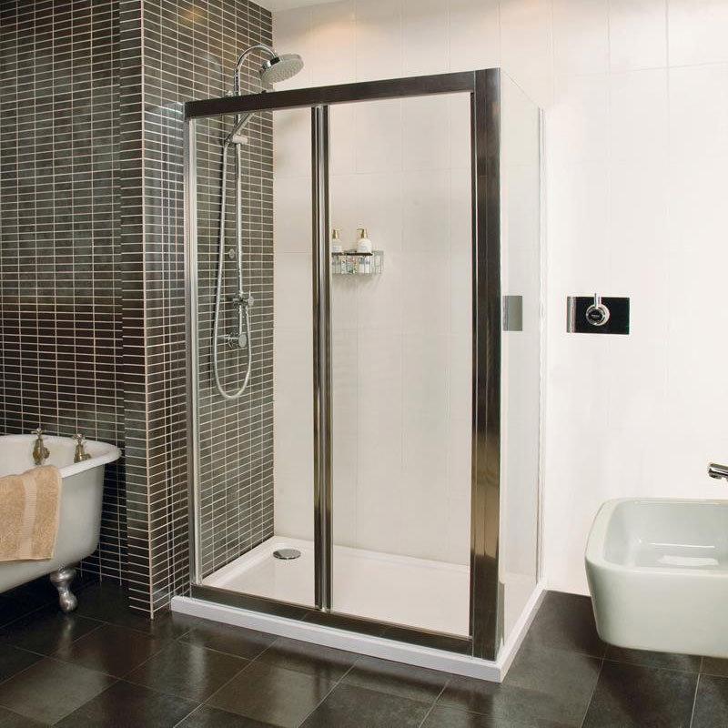 Roman Collage Bi-Fold Shower Door Profile Large Image
