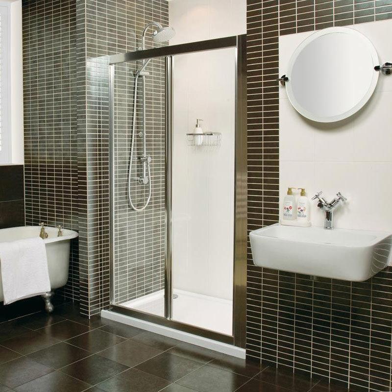 Roman Collage Bi-Fold Shower Door Large Image