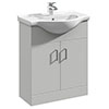 Cove Light Grey 650mm Vanity Unit profile small image view 1