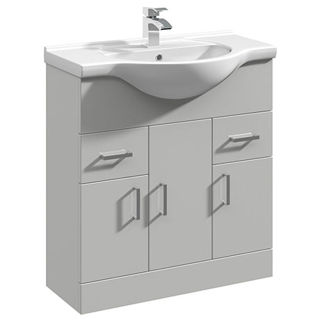 Cove Light Grey 750mm Vanity Unit