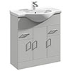Cove Light Grey 750mm Vanity Unit profile small image view 1