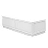 Chatsworth White Traditional Bath Panel Pack profile small image view 1
