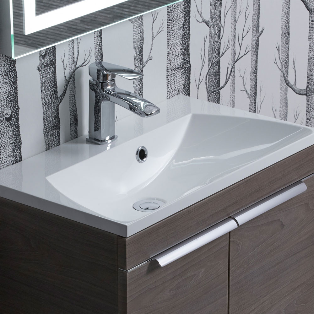Roper Rhodes Cypher 600mm Isocast Basin - CYP600C Large Image