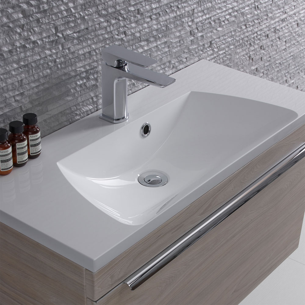 Roper Rhodes Cypher 800mm Isocast Basin - CYP800C profile large image view 1
