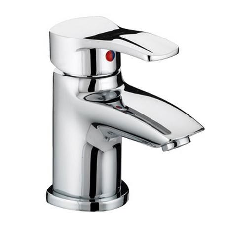 Bristan Capri Contemporary Basin Mixer (no waste) - Chrome - CAP-BASNW-C