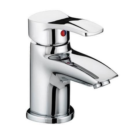 Bristan Capri Contemporary Basin Mixer with Eco-Click & Pop-up Waste - Chrome - CAP-EBAS-C