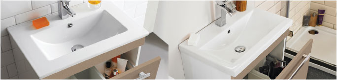 Mid-Edged and Minimalist Basin comparison