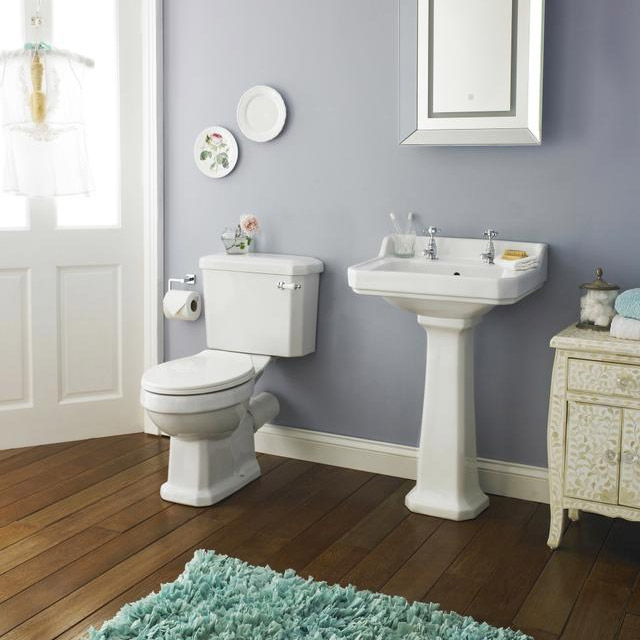 Carlton Bathroom Suite with Reef Offset Corner Bath Feature Large Image