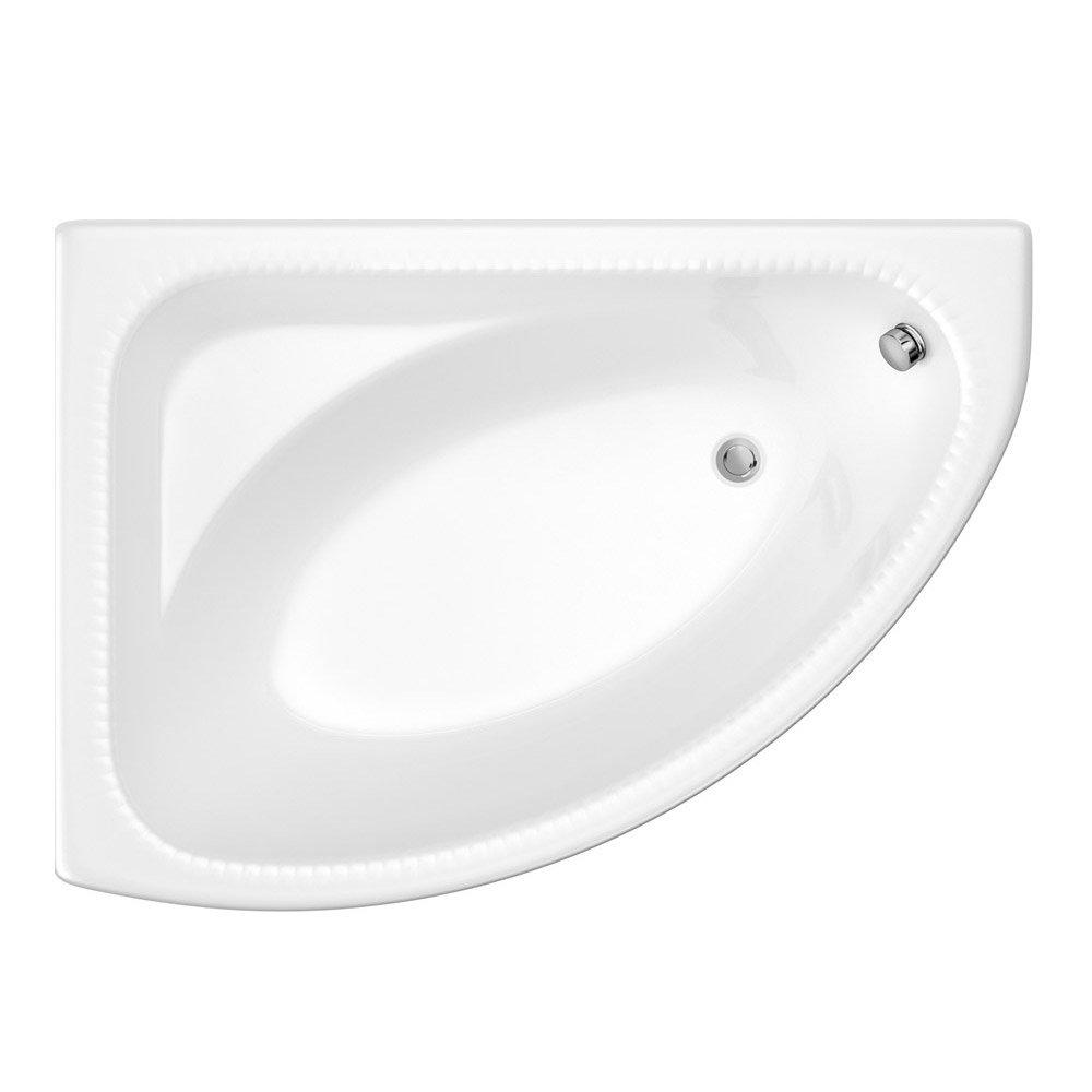 Carlton Bathroom Suite with Reef Offset Corner Bath Standard Large Image