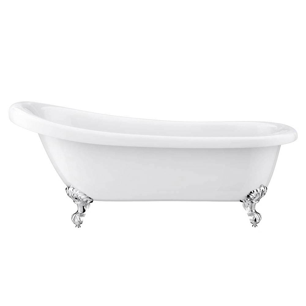 Carlton Classic Roll Top Slipper Suite with Ball + Claw Feet (1710mm) profile large image view 3