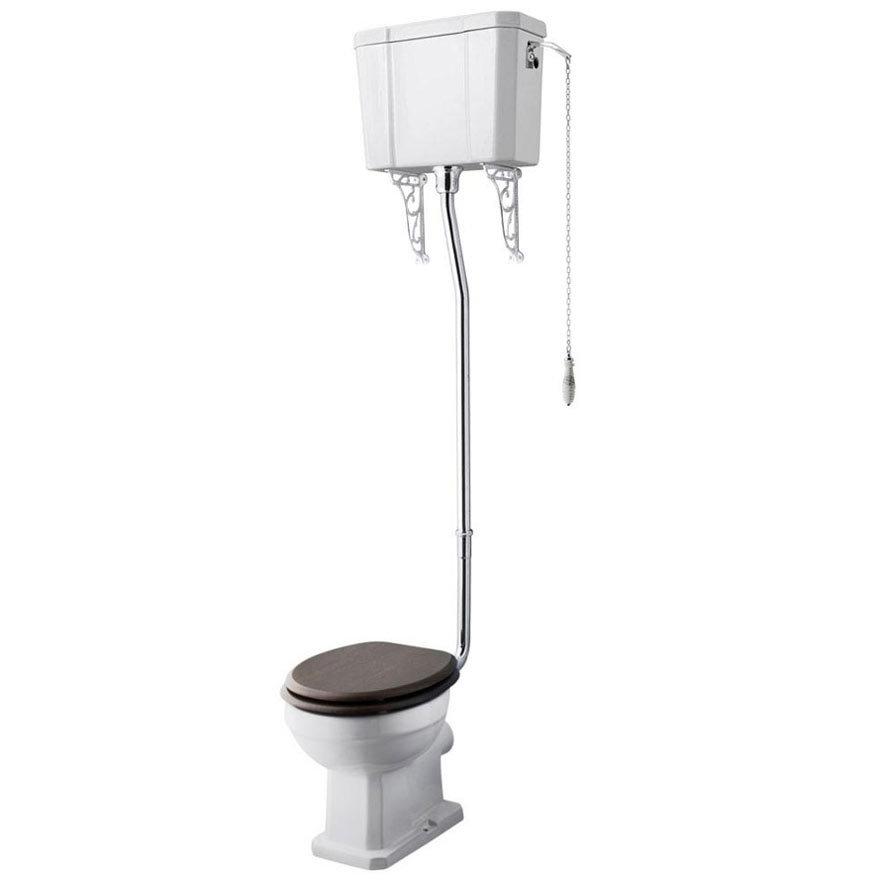 Carlton High Level Traditional Wc Ceramic Pan Amp Cistern