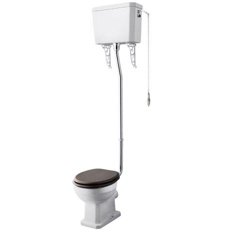 Carlton High Level Traditional Toilet - WC, Cistern and Pan