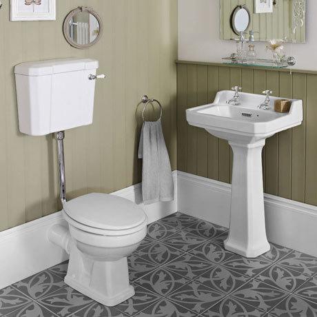 Carlton Low Level Bathroom Suite