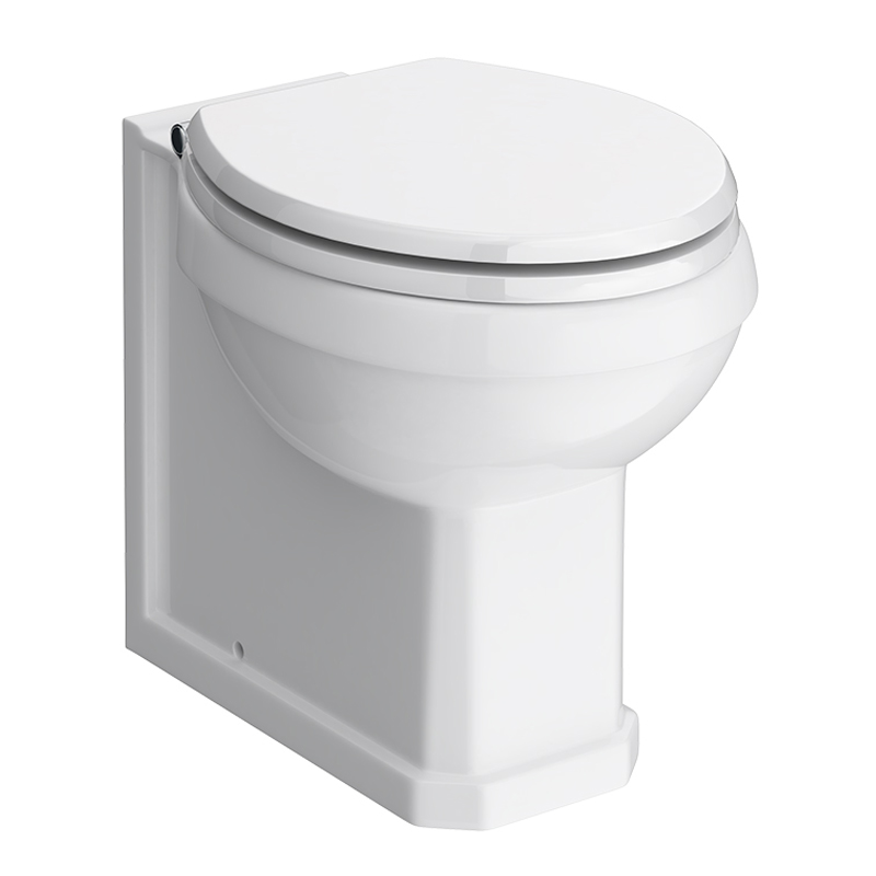 Carlton Traditional Back To Wall Pan (Excluding Seat) - NCS806 Large Image