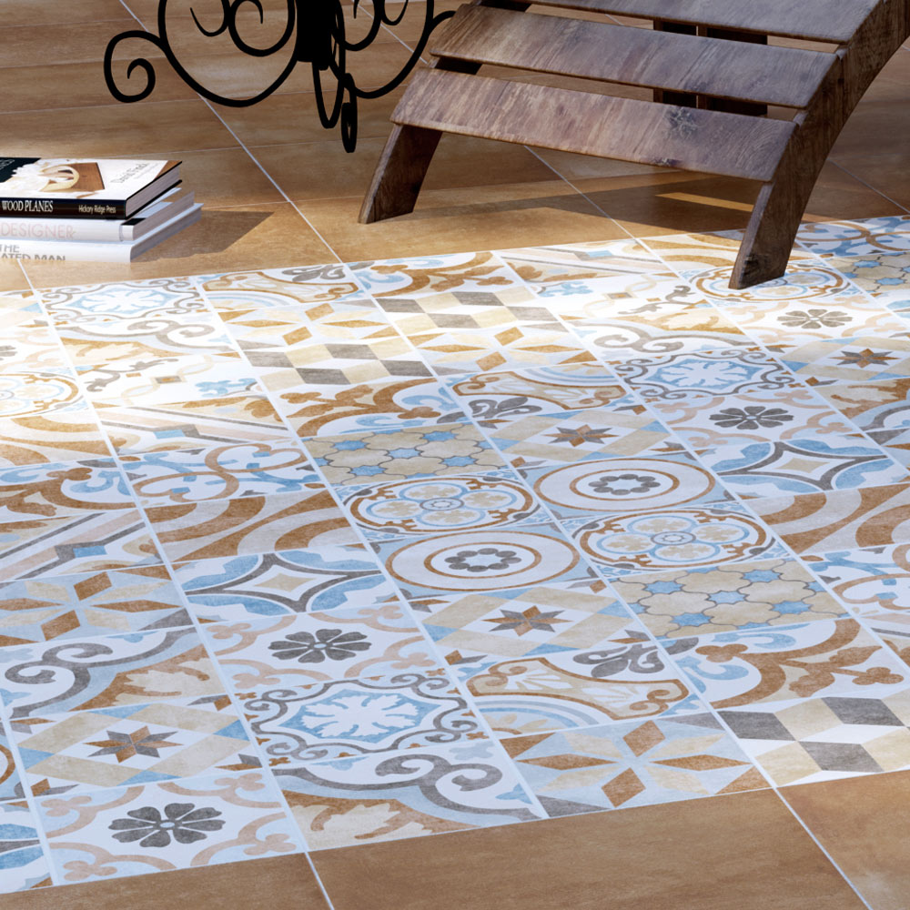 Carmona Porcelain Patterned Wall And Floor Tiles 300 X