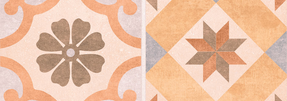 Carmona Patterned Floor Tiles