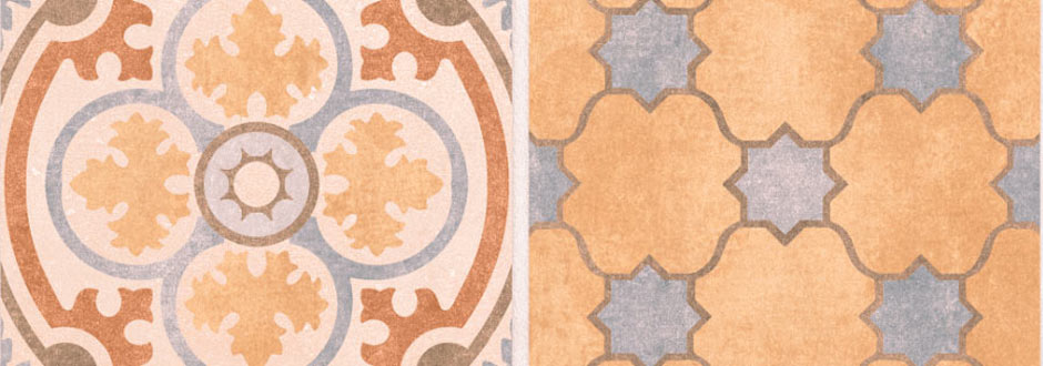 Carmona Porcelain Patterned Floor Tiles
