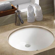 Caro Round Under Counter Basin 0TH - 430mm Diameter Medium Image