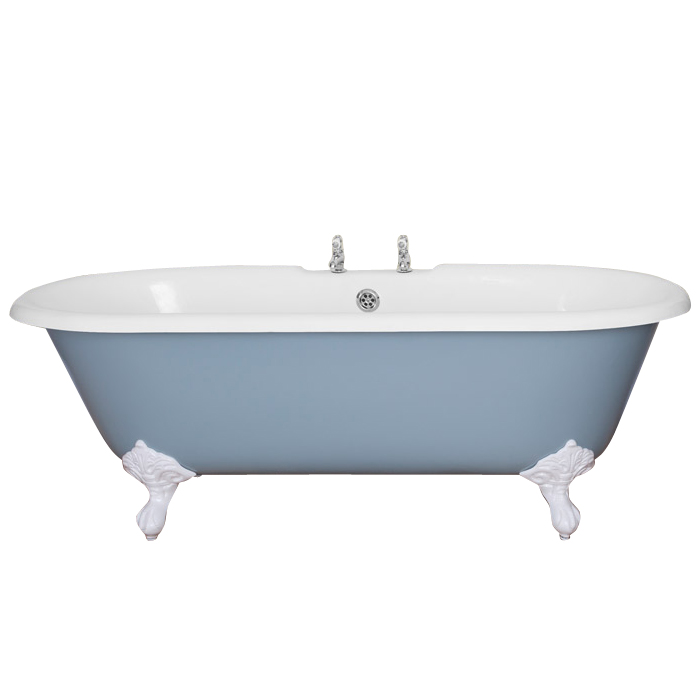 baths jig ashby cast iron roll top bath 1720x740mm with feet