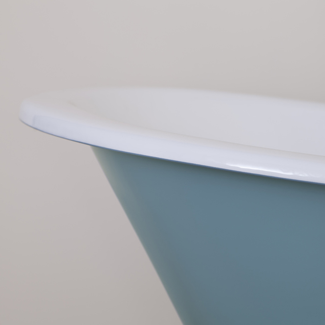 JIG Beaulieu Cast Iron Roll Top Slipper Bath (1720x740mm) with Feet profile large image view 3