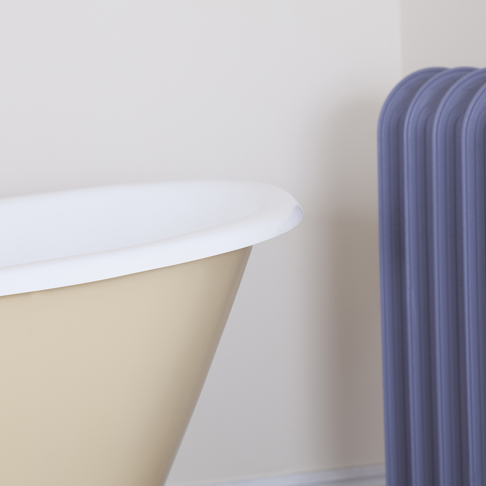JIG Berwick Cast Iron Roll Top Bath (1720x680mm) with Feet Standard Large Image