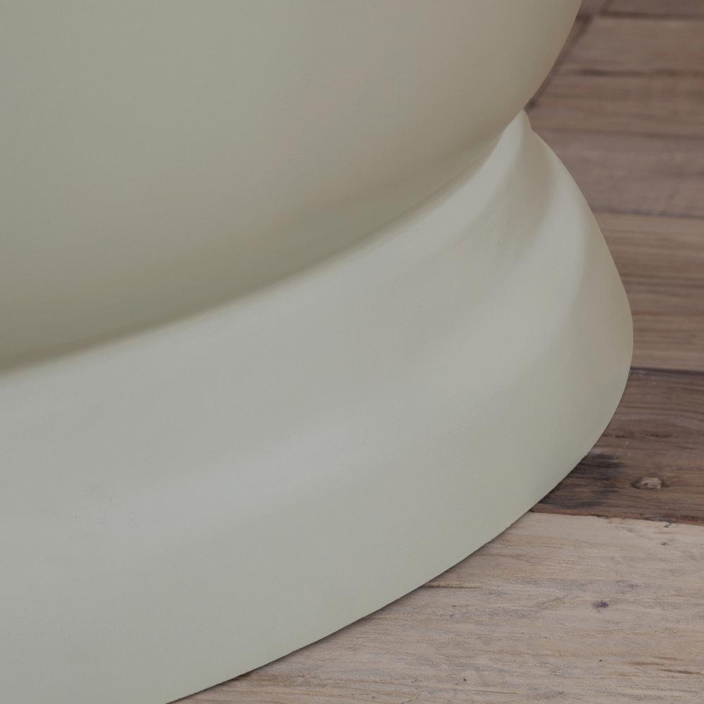 JIG Drum Round Cast Iron Bath (1325x520mm) - 13 Colour Options profile large image view 4