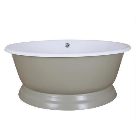 JIG Drum Round Cast Iron Bath (1325x520mm) - 13 Colour Options