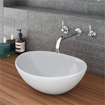 Casca Oval Counter Top Basin 0TH - 400 x 330mm