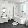 Casca Wall Hung Bathroom Suite profile small image view 1