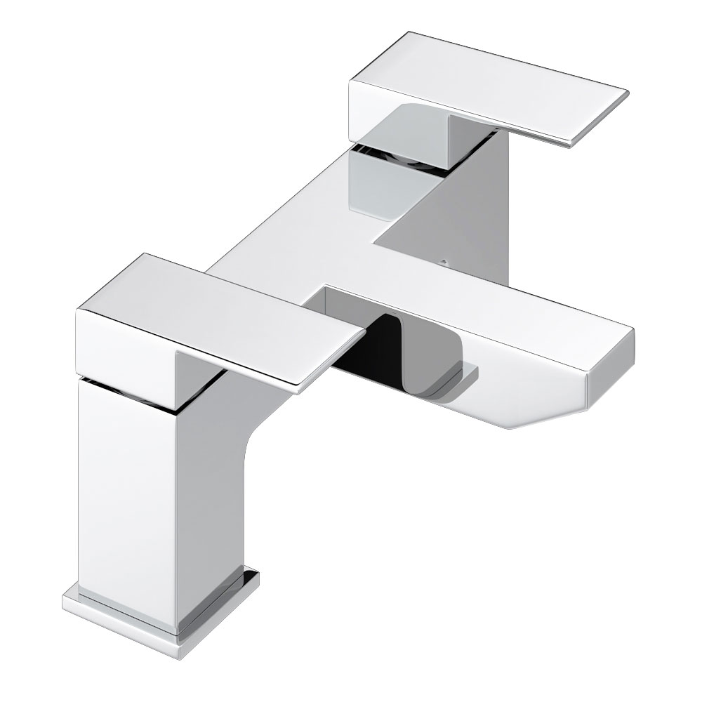Cast Bath Filler - Chrome Large Image