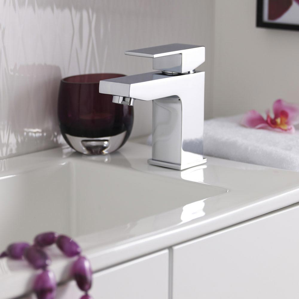 Cast Mono Basin Mixer Tap + Waste  Standard Large Image