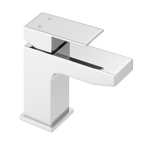Cast Mono Basin Mixer with Waste - Chrome