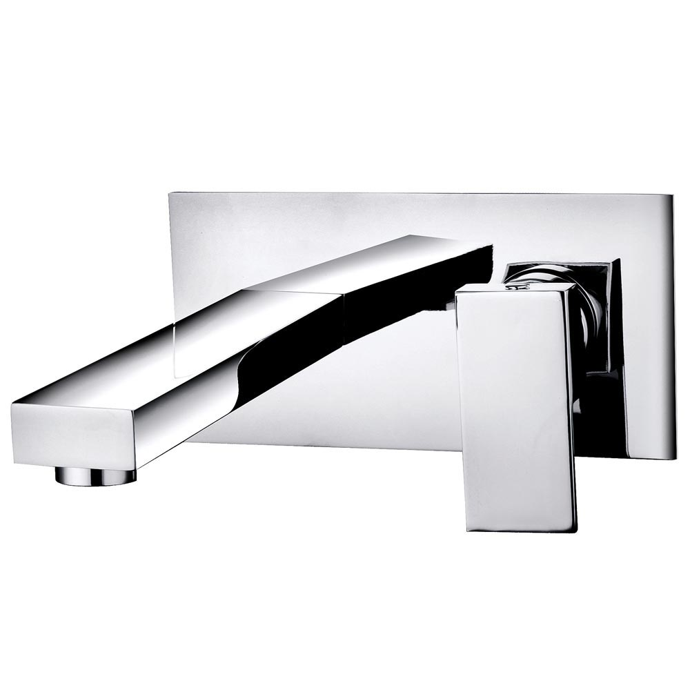 Cast Wall Mounted Basin Mixer Tap Large Image