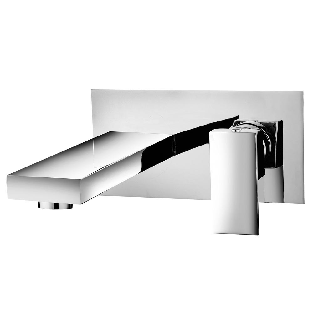 Cast Wall Mounted Bath Filler Tap Large Image