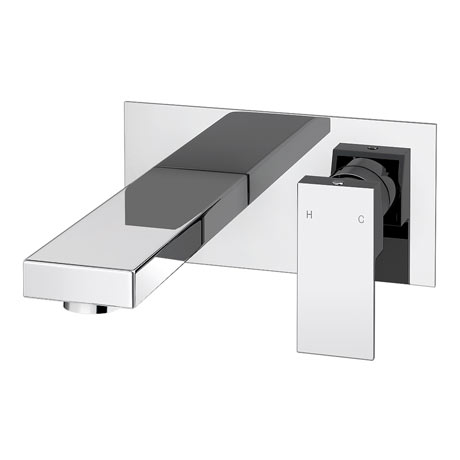 Cast Wall Mounted Bath Filler Tap