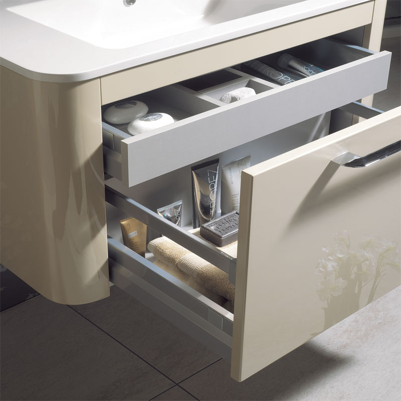 Bauhaus - Celeste Vanity Unit with Basin - Calico - 3 size options Profile Large Image