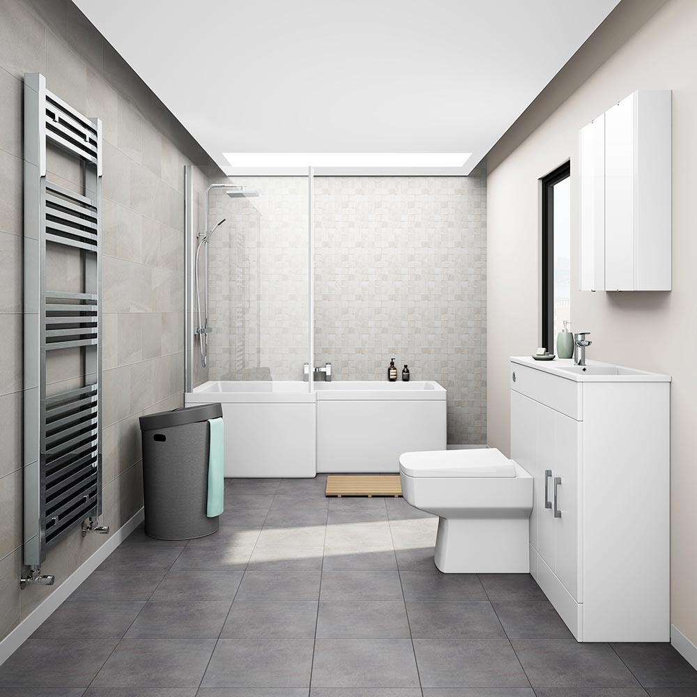 Cello Family Bathroom Suite Large Image