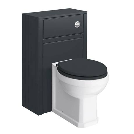 Chatsworth 3 piece traditional graphite bathroom suite at for Bathroom 3 piece suite