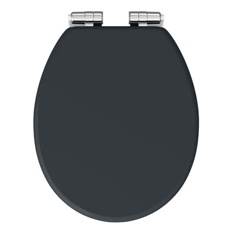 Sensational Chatsworth Graphite Soft Close Toilet Seat Theyellowbook Wood Chair Design Ideas Theyellowbookinfo