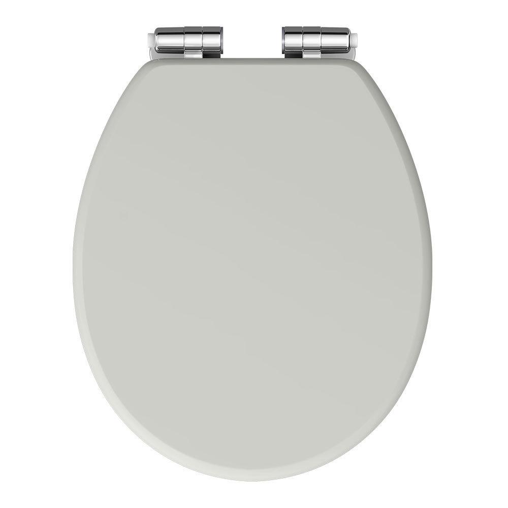 Chatsworth Grey Soft Close Toilet Seat Victorian Plumbing UK