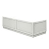 Chatsworth Grey Traditional Bath Panel Pack profile small image view 1
