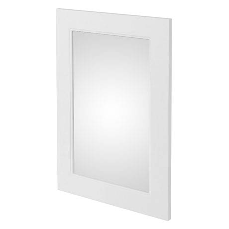 Chatsworth Mirror (600 x 400mm - White)