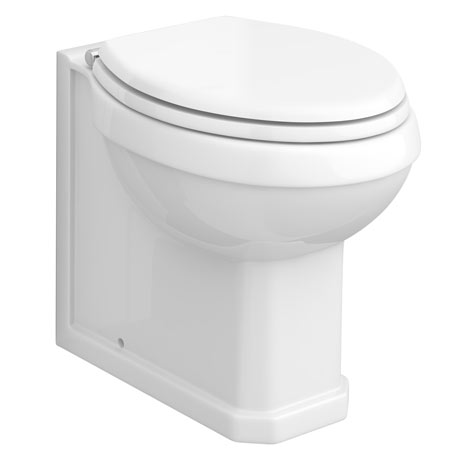 Chatsworth Traditional Back To Wall Pan (Excluding Seat)